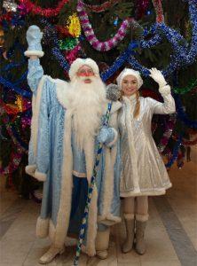 Новый год 2016 в Кимрском театре.